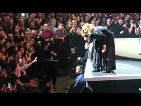 Adele talks Glastonbury, twerking, giving out tickets and taking selfies - London O2, 22.03.16