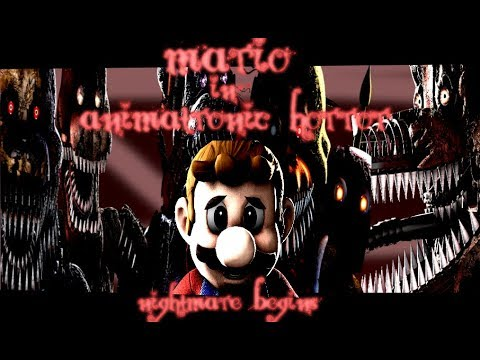 Mario in animatronic horror the nightmare begins trailer