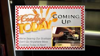 Seared Scallops With Cheesy Polenta - Cooking Today With Chef Brooks