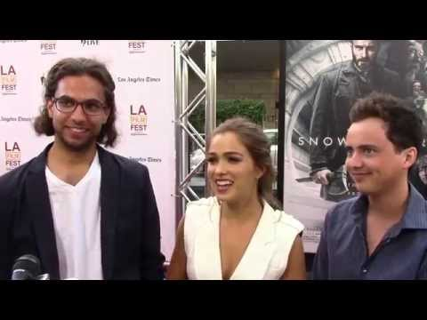 2014 LA Film Festival  Carpet Chat with Karem Senga, Haley Lu Richardson, Ryan Malgarini