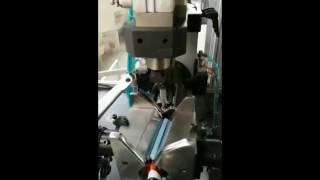 Skew armature automatic flyer lap winding machine for slotted type commutator rotor armature