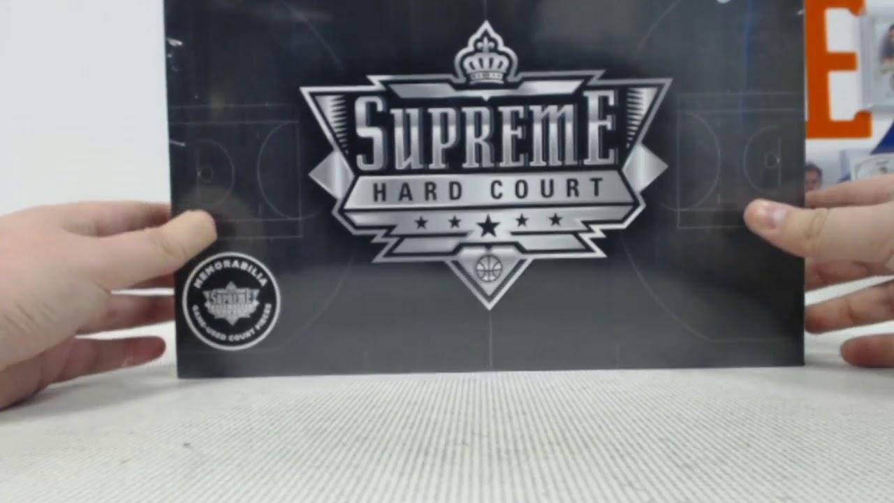 2017 18 Upper Deck Supreme Hard Court Basketball 2-Box - DACW Live 27 Spot  Random Player Break  3 0ba8f8032