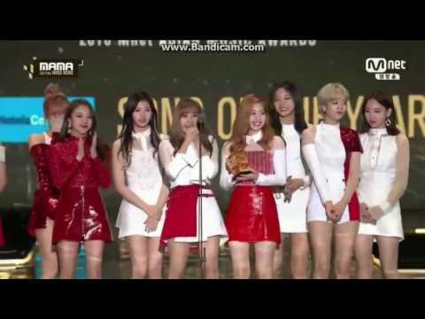 [ENGSUB/FULL] 161202 Twice MAMA 2016 Awards Speech