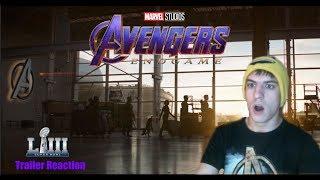 Marvel Studios' Avengers Endgame Superbowl TvSpot Trailer Reaction!