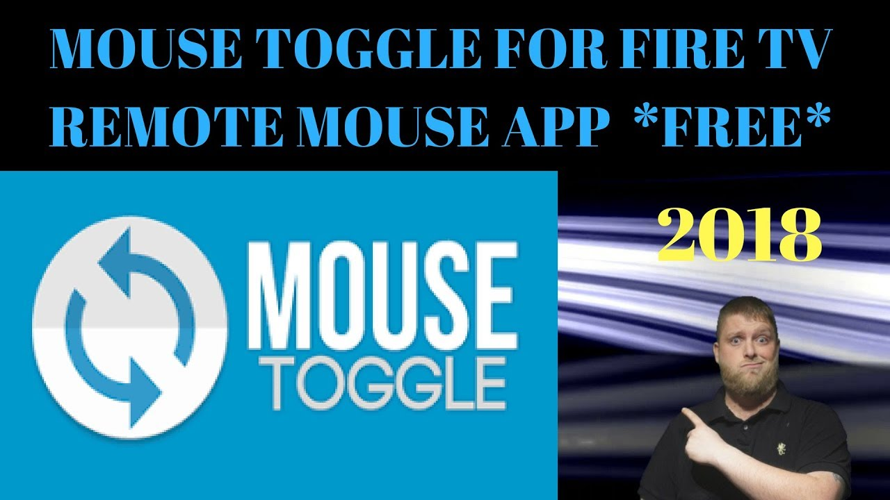 *2018*  Free Remote Mouse App On Firestick ..  Mouse Toggle For Fire Tv ..    3 Different Ways  #Smartphone #Android