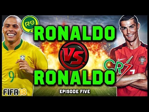 RONALDO vs RONALDO #5! (R9 vs CR7) - FIFA 18 ULTIMATE TEAM