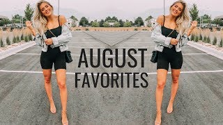 AUGUST FAVORITES | Fitness, Beauty, Food