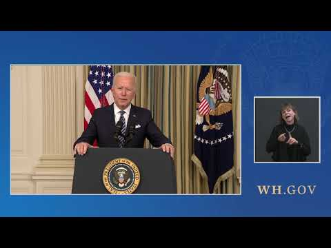 President Biden Delivers Remarks on the Implementation of the American Rescue Plan