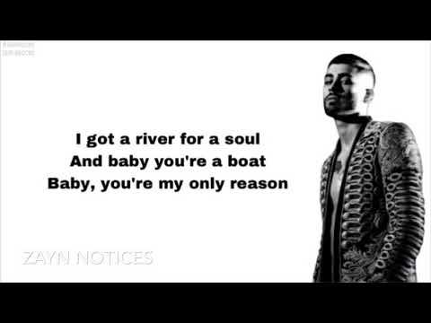 ZAYN - Drag Me Down (Cover) Ft. Liam Payne (Lyric Video)