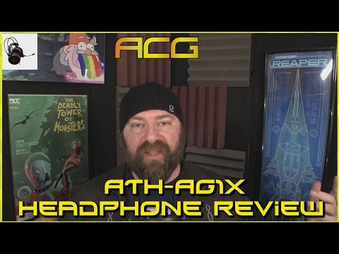 Audio‑Technica ATH - AG1X Over‑Ear Headset Review