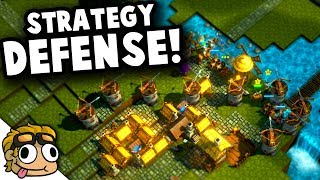 NEW STRATEGY DEFENSE GAME! | ValeGuard Early Access PC Gameplay