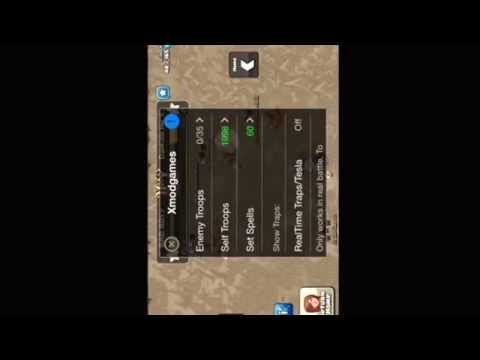 Clash of clans mod update using xmodgames