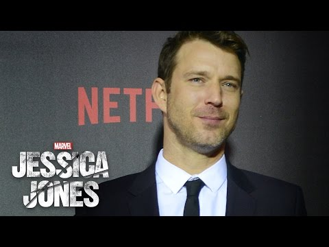 Will Traval on Will Simpson  Marvel's Jessica Jones Red Carpet