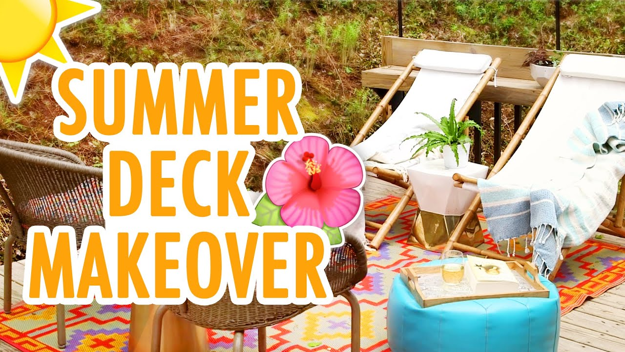 How To Get Your Patio Ready For Summer Hgtv Handmade
