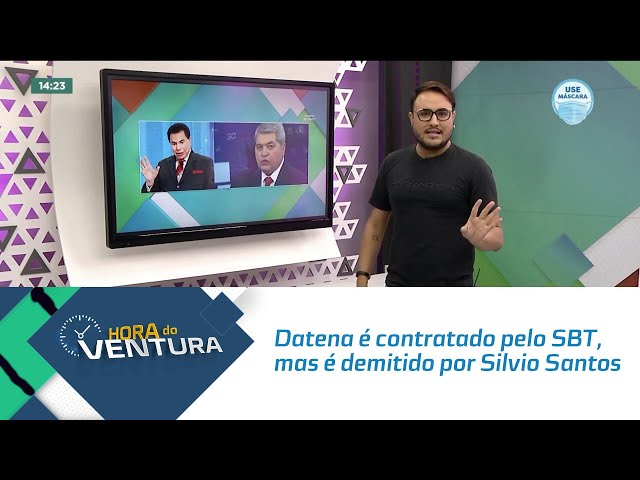 Datena é contratado pelo SBT, mas é demitido por Silvio Santos horas depois