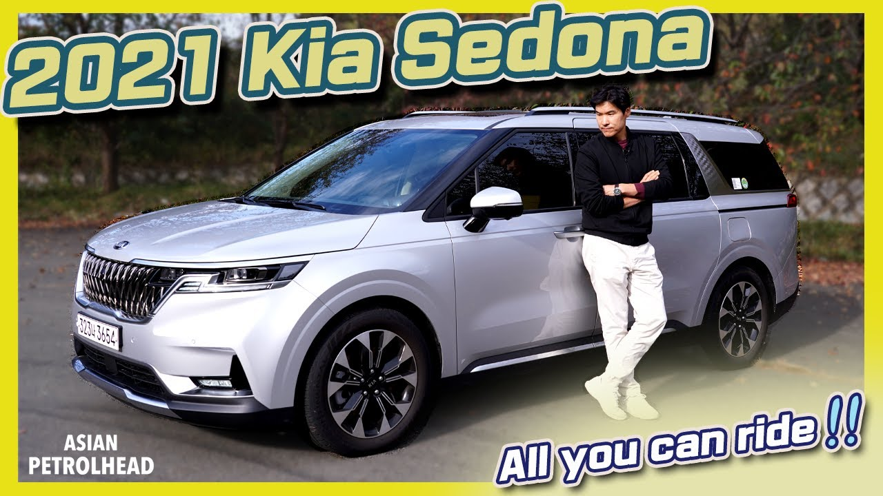 2021 Kia Sedona Review – Best looking Minivan EVER? Could this be the minivan you're proud to drive?