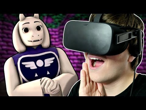 UNDERTALE IN VR! - Journey from the Ruins to the Surface!! | Undertale in Virtual Reality