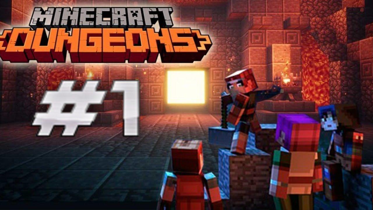 Minecraft Dungeons - O início #1
