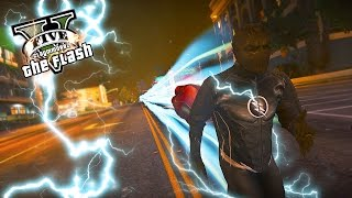 GTA 5 PC - The Chase Of Zoom In Earth 3 ! Another Zoom Rampage ! (Ultimate Flash Mod Gameplay)