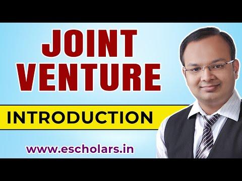 #1 | Joint venture (Part: 1) | Financial accounting | CA | CS | CMA | B.com | BBA