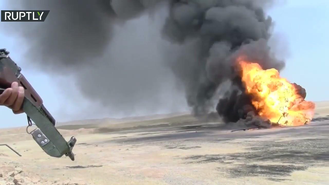 مسحلون يستهدفون حقل نفط في كركوك  - نشر قبل 6 ساعة