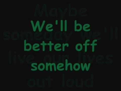 Someday-Rob Thomas (LYRICS)
