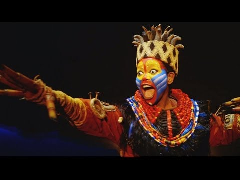 Disney presents THE LION KING- Australia's official show footage