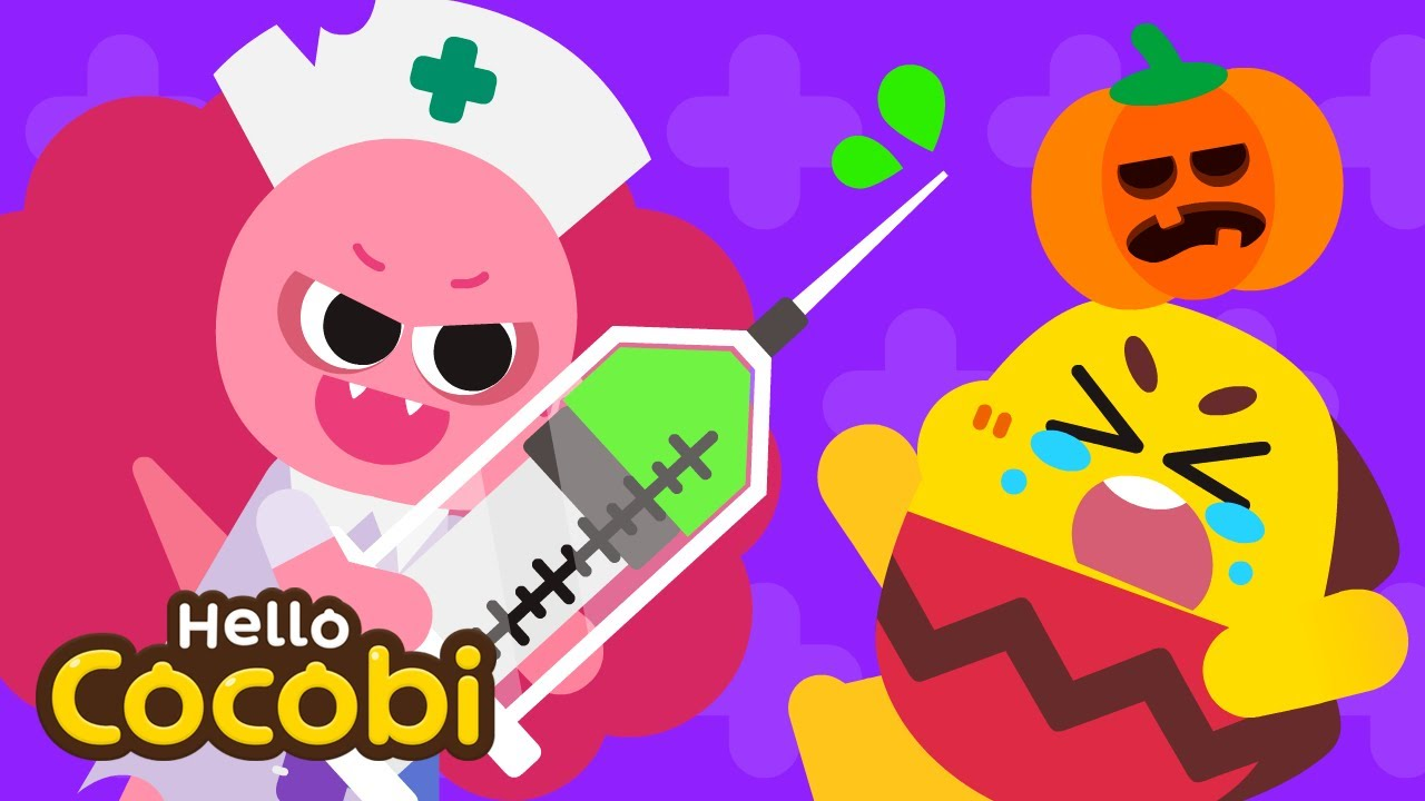 Download Scary Monster Hospital😈Halloween Songs for Kids   Spooky Nursery Rhymes   Hello Cocobi