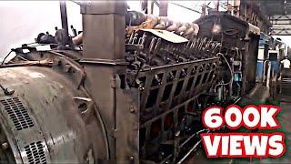 INDIAN RAILWAYS - DIESEL SHED - OPEN ENGINE PARTS