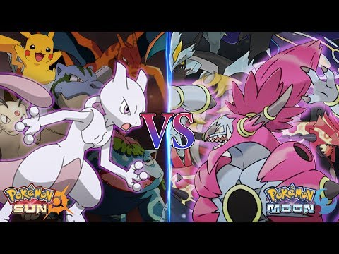 Pokemon Sun and Moon: Mewtwo Vs Hoopa Unbound (Pokemon Movie)
