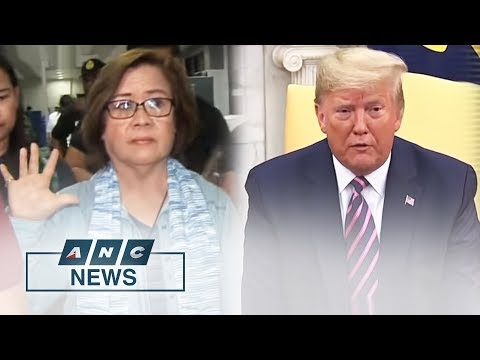 Trump Approves US Ban On PH Officials Involved In De Lima's Detention   The World Tonight