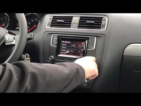 How-To Preset Radio Stations in a Volkswagen