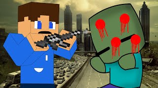 Minecraft Crafting Dead - LEARNING TO SHOOT (Minecraft Roleplay) #13