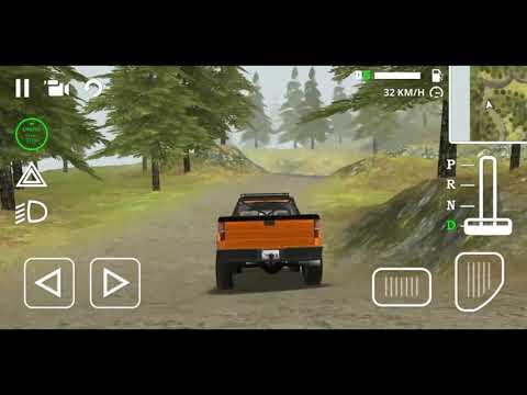 Игра на андроид: Классно поют птички, и застрял в грязи/Off-Road: Forest/Android Game FHD