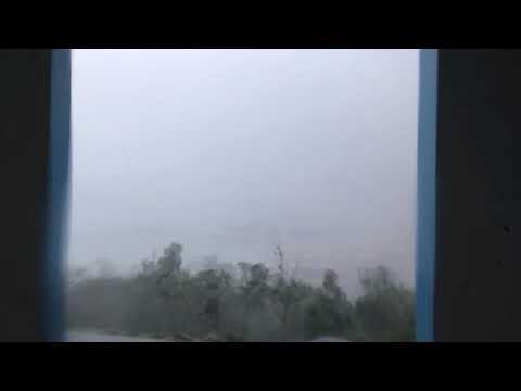Hurricane Irma Slamming St. Thomas In The U.S. Virgin Islands