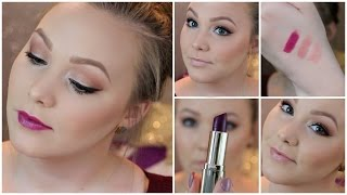 Fall Makeup Tutorial | 3 Lip Options! Thumbnail