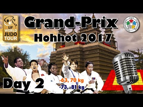 Judo Grand-Prix Hohhot 2017: Day 2 - Final Block