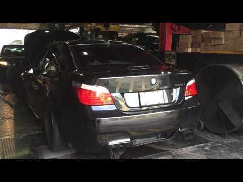 BMW 2009 535i E60 N54 stage 2 VTTO turbos Dyno 500+ hp and Torque