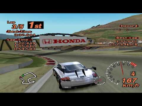 Gran Turismo 2 - Gran Turrismo World League - Audi TT LM Edition - EPSXe 1.8.0