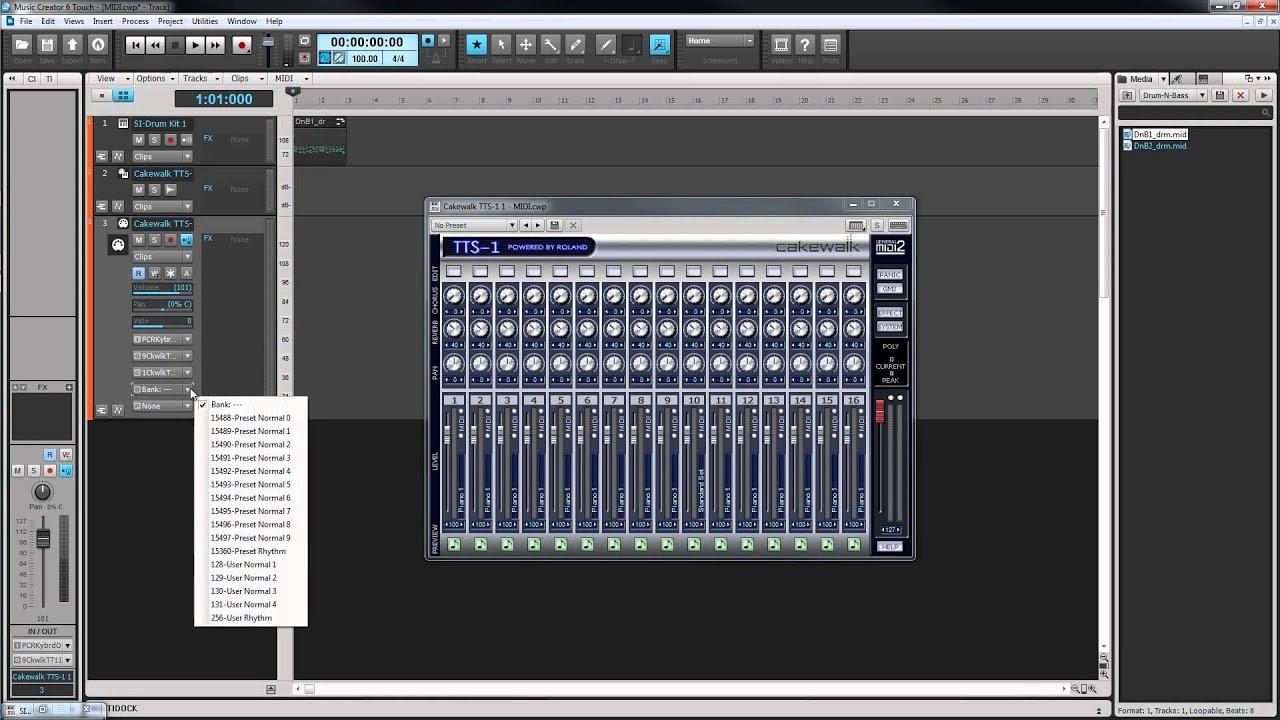 cakewalk music creator 6 mac