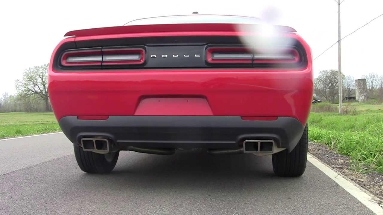 Corsa Cat Back Exhaust Challenger