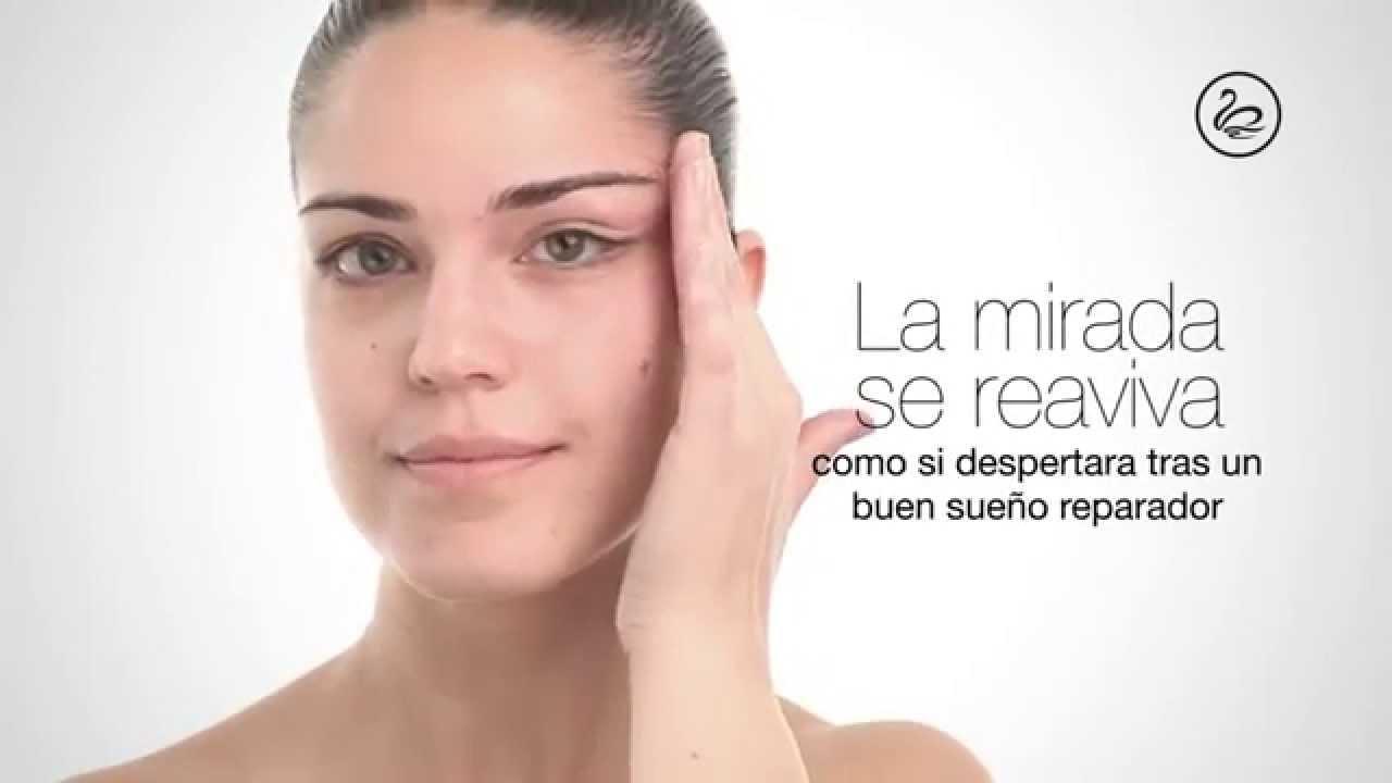 Cómo se aplica el contorno de ojos?. ¿Cómo hacer el masaje? - YouTube