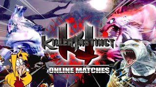 Suddenly...EVERYONE Is Sabrewulf : Fulgore - Killer Instinct Online Matches
