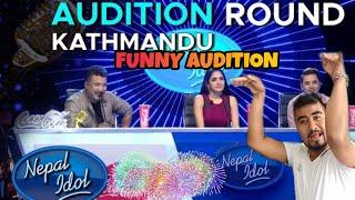 Nepal Idol Season-3-2019 || Funny audition || ft.AK Khatri,Naman purie,Amit Khadka || AK Vines