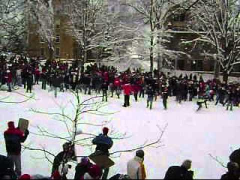 World Record Largest Snowball Fight - YouTube