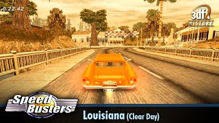 3dfx Voodoo 5 6000 AGP - Speed Busters: American Highways - Louisiana (Clear Day) [Gameplay]