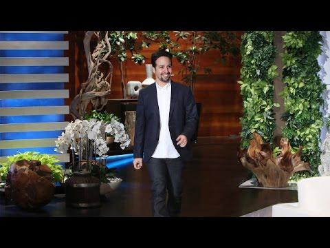 Lin-Manuel Miranda's Ellen Debut