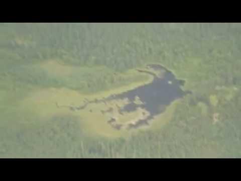 Alien's-eye-view of hellhole on Earth - Alberta Tar Sands