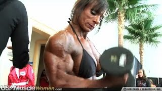 Tina Zampa - Female Muscle Fitness Motivation