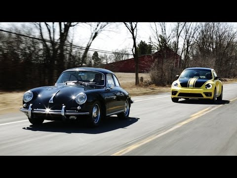 1964 Porsche 356 vs. 2014 Volkswagen Beetle GSR | THEN VS NOW